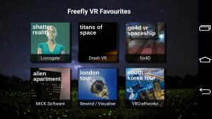 Freefly VR Glide Control3