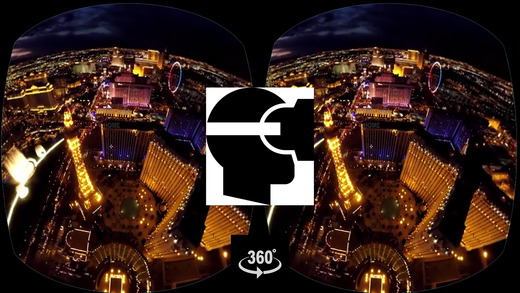 Goggle VR Helicopter Flight Las Vegas