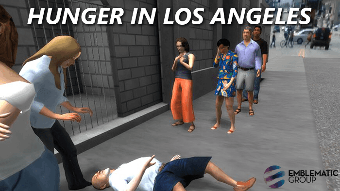 Hunger in LA