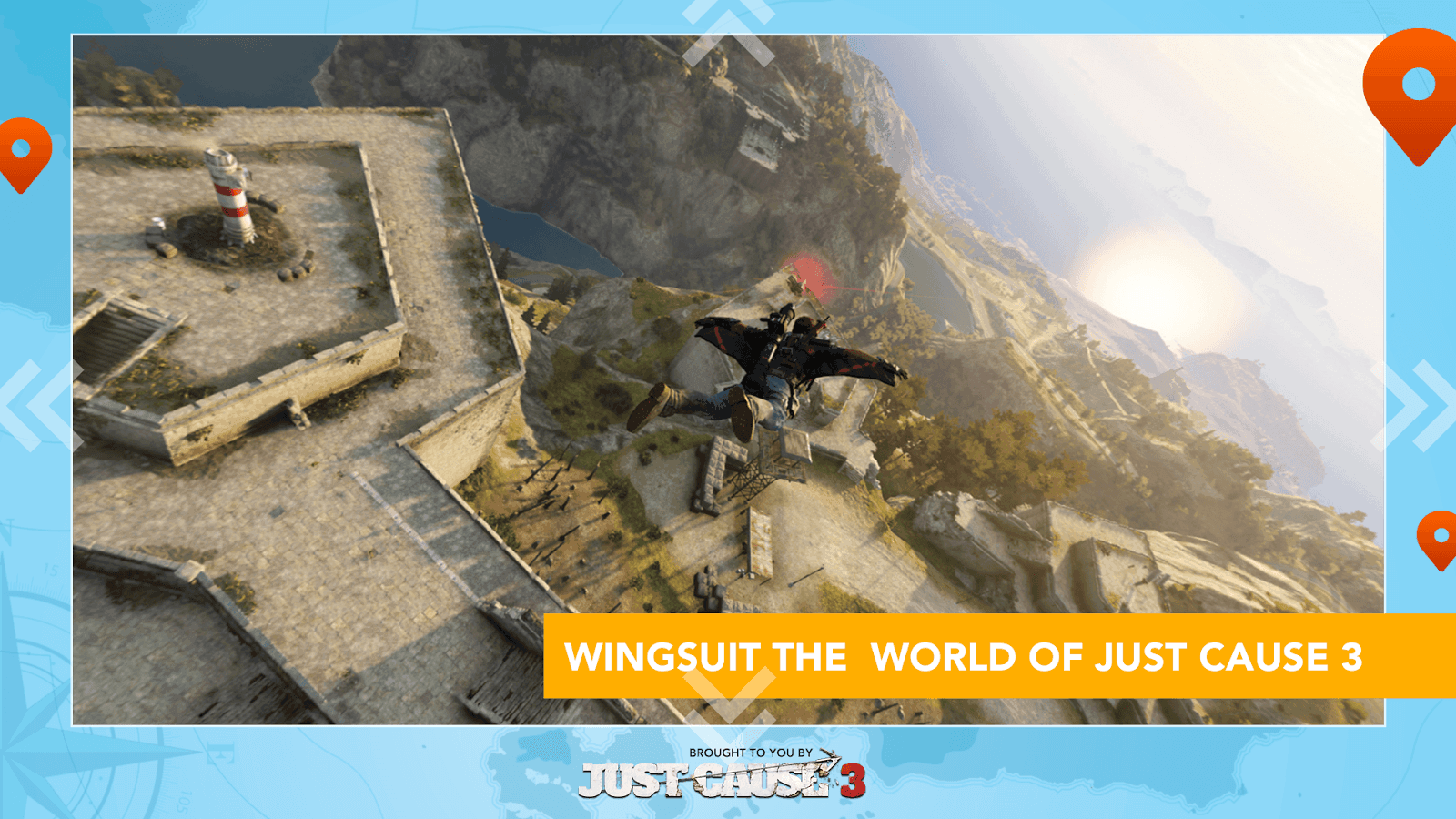 Just Cause 3 WingSuit Tour