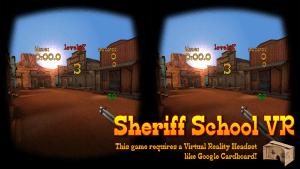 SHERIFF SCHOOL VR