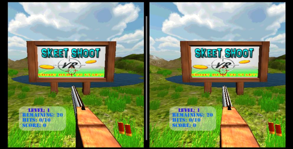 Skeet Shoot VR