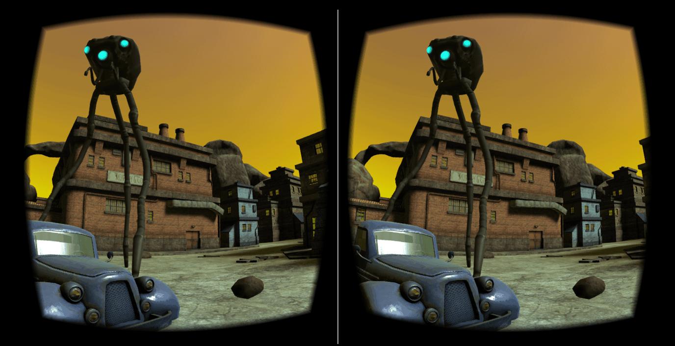 VR Alien Attack – Cardboard