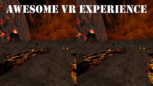 VR Hell Journey for Cardboard