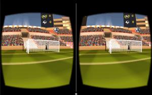 VR Soccer Header for Cardboard5