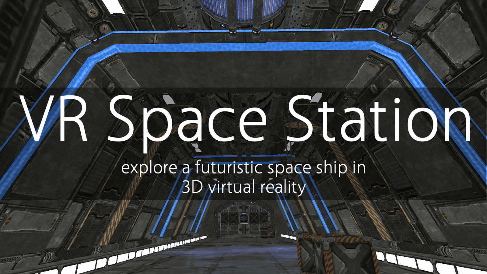VR Space Station for Cardboard