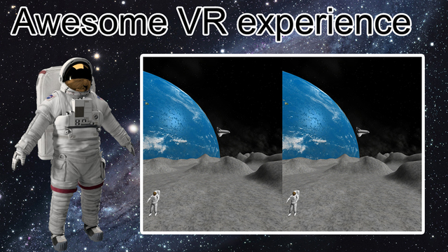 VR Space mission Moon Explorer2