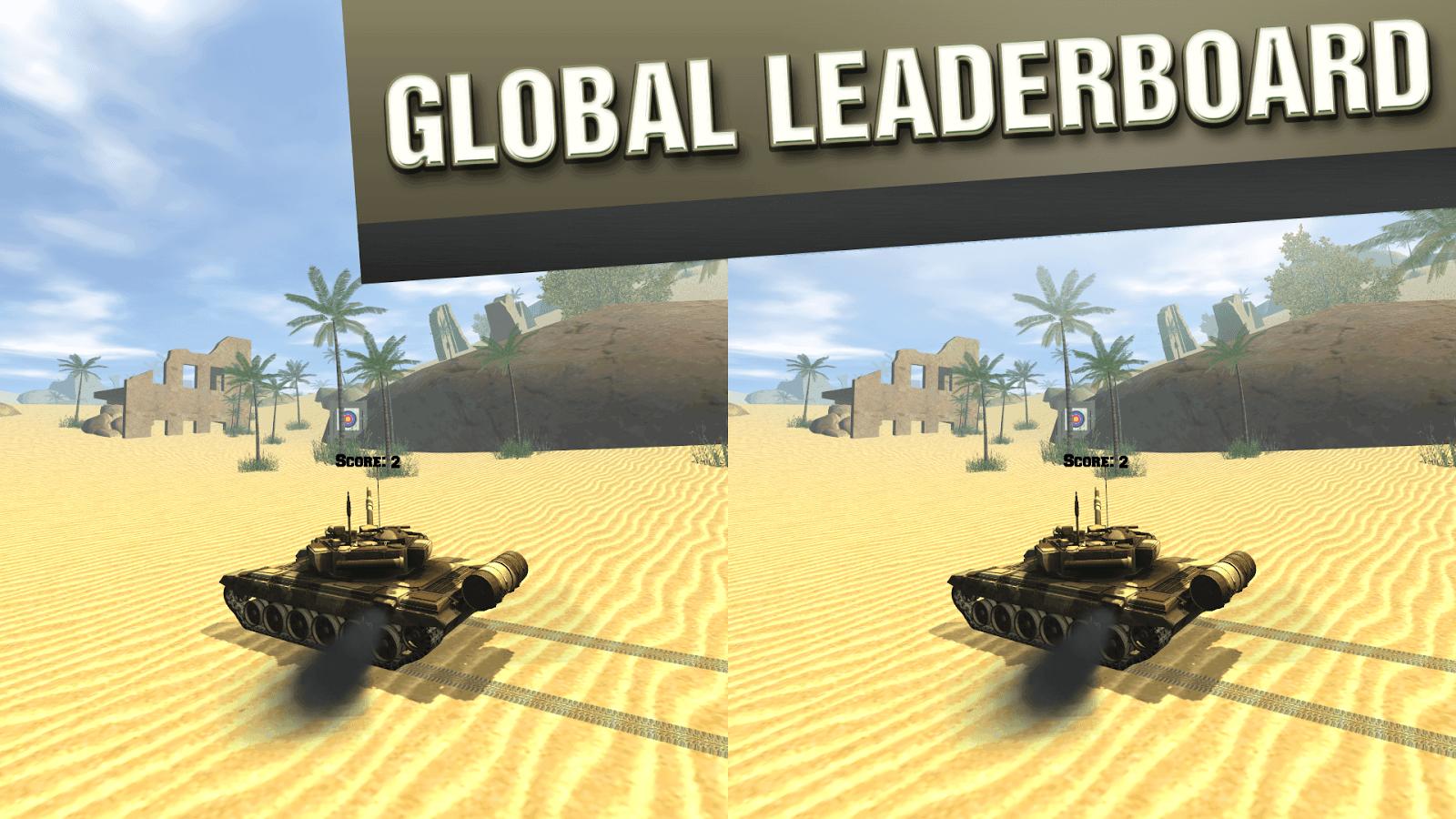 VR Tank Training for Cardboard