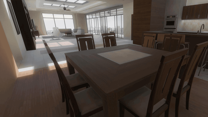 Virtual Reality Architectural Visualization Demo2