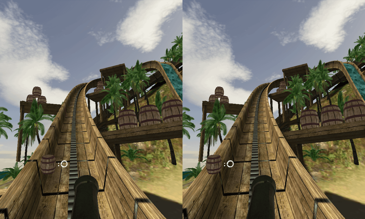 Swivel Gun! VR Log Ride (beta)