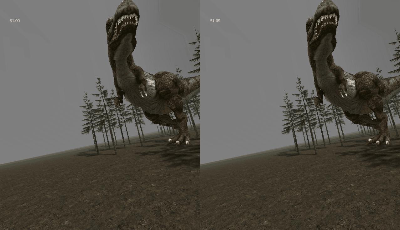 VR T-Rex, Cardboard