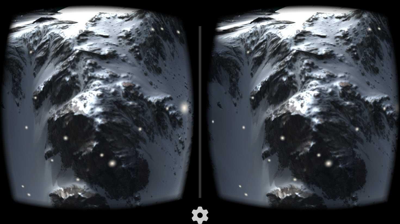 Snow Mountain Cardboard VR