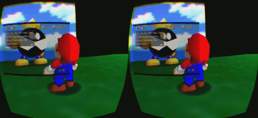 Sonic the Hedgehog 2, Zelda and Mario 64 for Oculus Rift