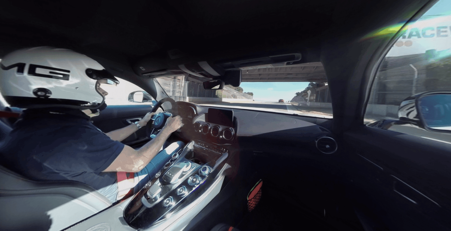 Mercedes VR for Cardboard