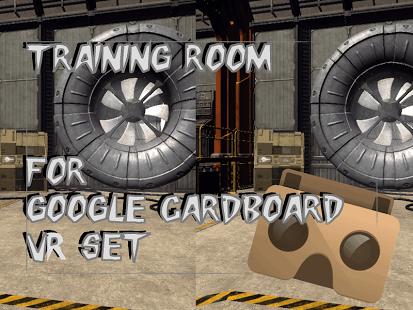 Cardboard training room