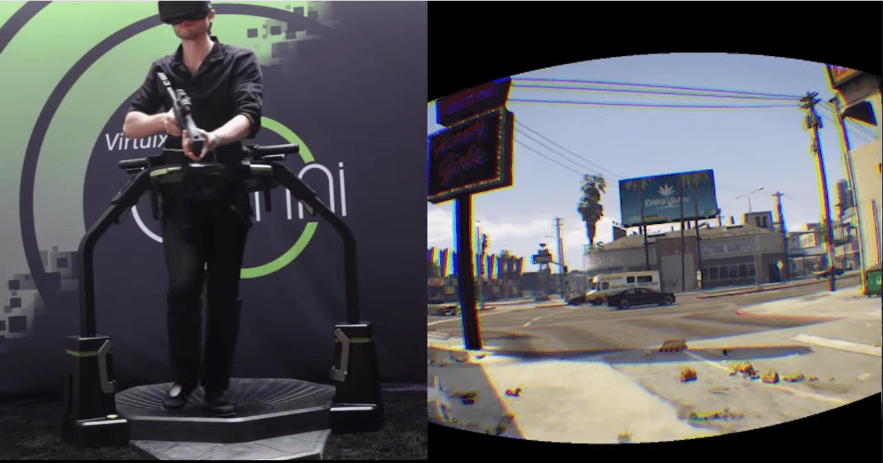 Control GTA V with an Omni and the Oculus Rift