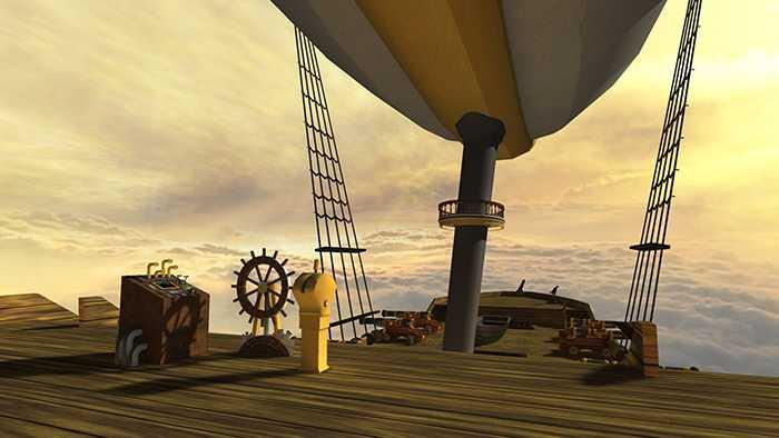 Steampunk Skyship