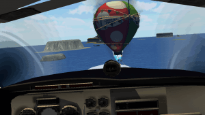 VR Airplane Flight Simulation2