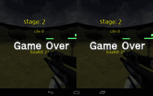 VR Zombie Defense,Cardboard5