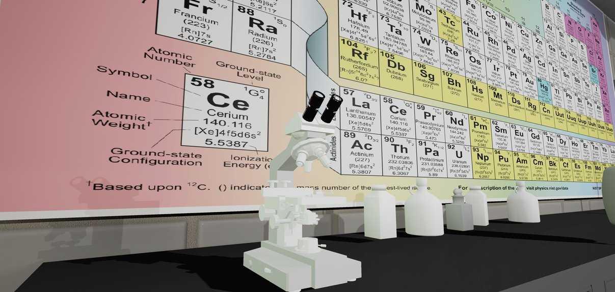 Chemistry Experiment VR