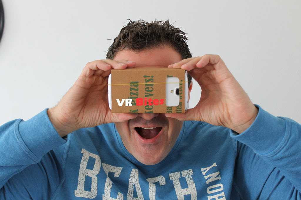 How to Create Google Cardboard from a Pizza box