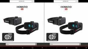 Homido 360 VR player