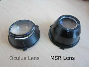 Oculus vs. MSR Lens