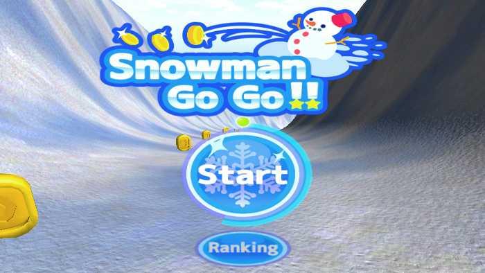 Snowman Go Go!! / 大爆走雪だるま!!