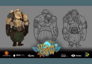 SteamCrew VR3
