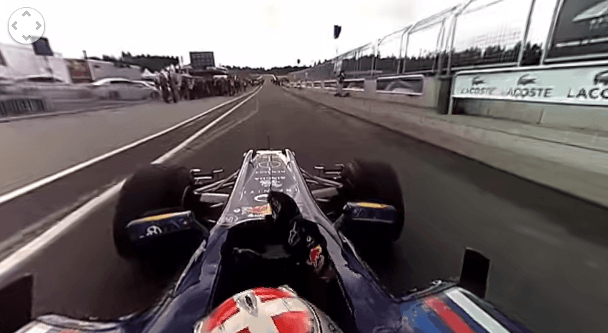 Red Bull F1 360° Experience.