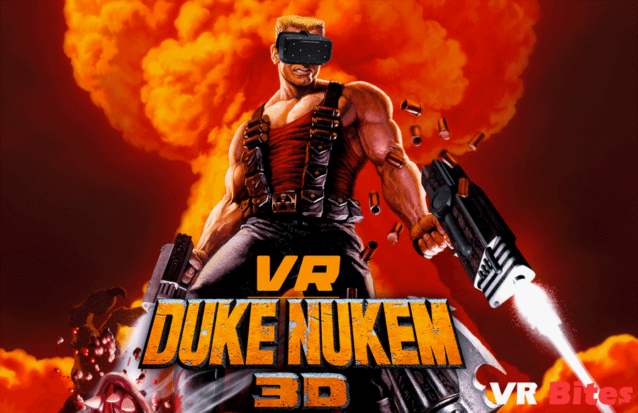 How to play Duke 3D in virtual reality