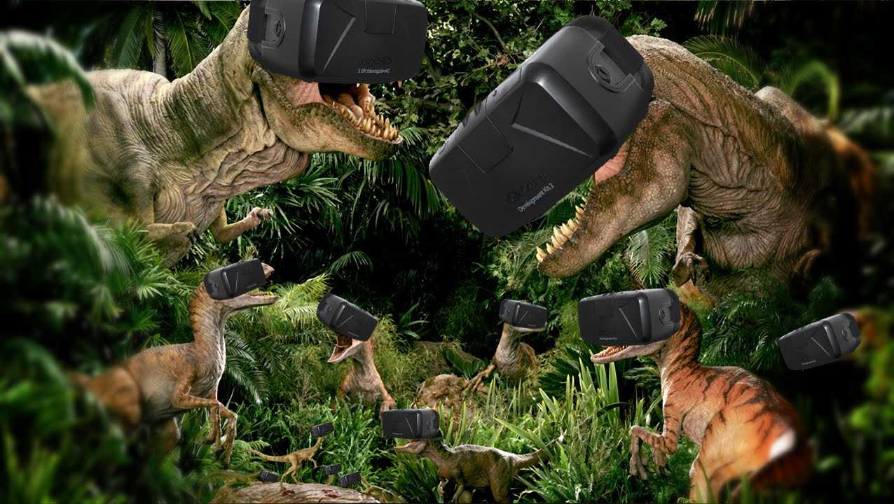 BEST VIRTUAL REALITY DINOSAUR GAME | Jungle Dino (Oculus Rift)