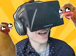 Chicken Walk: Oculus Rift – TROLLING A FOX