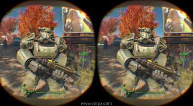 FALLOUT 4 – In Oculus Rift, Virtual Reality (VorpX profile)