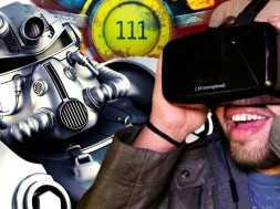 Fallout 4 In VIRTUAL REALITY! | Oculus Rift DK2 Gameplay