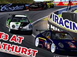 iRacing – Blancpain Sprint Series at Bathurst Ruf RT 12R Track (Oculus Rift DK2)