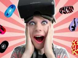 NailCanvasVR: Oculus Rift DK2 and Leap Motion – MAKEOVER FROM BOY TO GIRL!