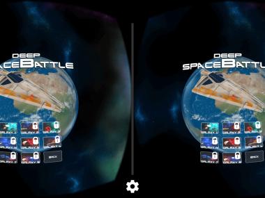Deep Space Battle VR8