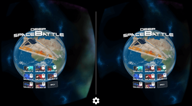 Deep Space Battle VR8