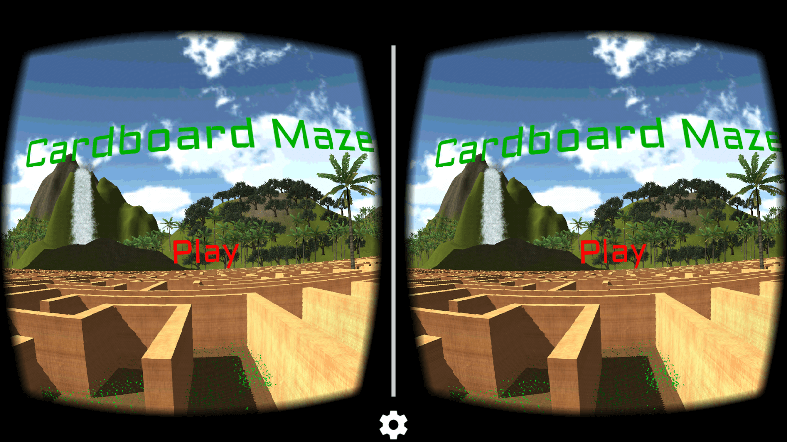 Maze Cardboard