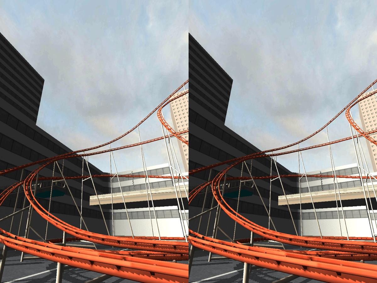 Roller Coaster VR – 3D HD Pro