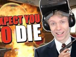 A TOP SECRET MISSION! | I Expect You To Die (Oculus Rift DK2)