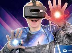 CAST VIRTUAL SPELLS WITH YOUR HANDS!   Warlock VR (Oculus Rift DK2 + Leap Motion)
