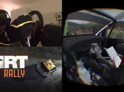 DiRT RALLY – OCULUS RIFT DK2 – VW Polo R WRC @ Bidno Moorland Reverse, Wales