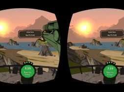 Lunchtime with my Gear VR – Bandit Six Salvo