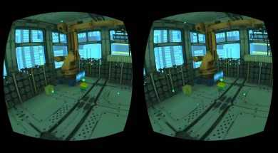 Lunchtime with my Gear VR – Cityscape Repairman
