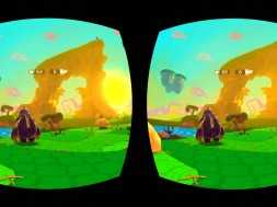 Lunchtime with my Gear VR – Jake and Tess: Finding Monsters Adventure
