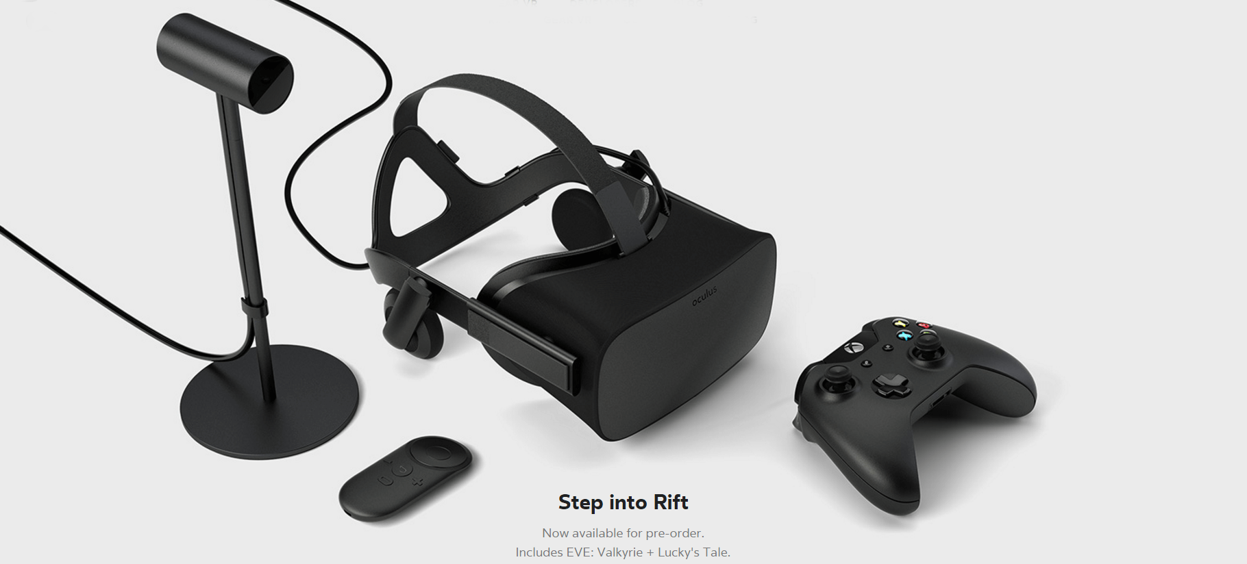 Oculus Rift Availble for Pre-order