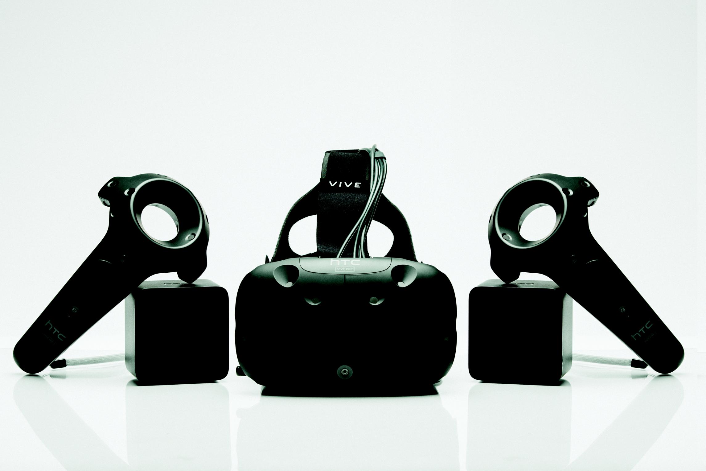 HTC Vive Pre announced