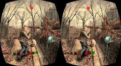 Resident Evil 4 on the Oculus Rift! Abnormal Grim's (Terrible) VR HALLOWEEN – Part 2